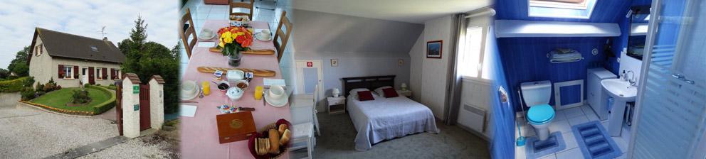 La bessine chambre d 39 h te normandie calvados plages du d barquement accueil - Chambres d hotes plages du debarquement ...